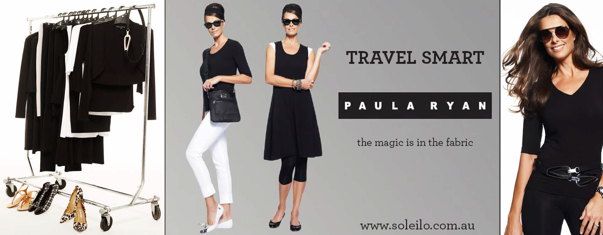 Paula Ryan TRAVEL Wardrobe